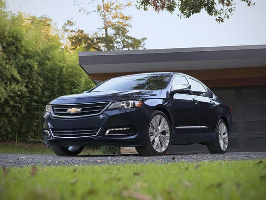 The Impala, Chevrolet's large sedan, is yielding to demand for SUVs and crossovers.