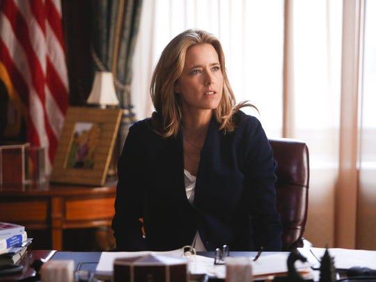 """Tea Leoni in """"Madam Secretary,"""" which concludes its CBS run Sunday night."""