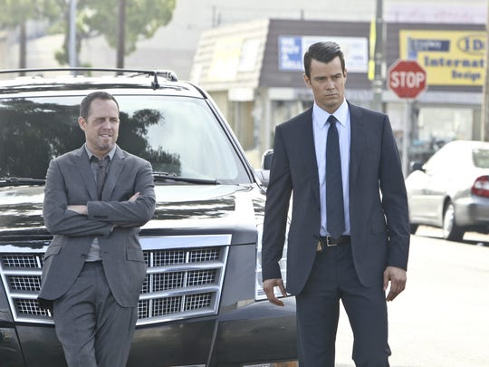 """Battle Creek"" stars Josh Duhamel and Dean Winters in a drama about two mismatched law enforcement officers. Arcadia Brewing Company in Battle Creek will host a viewing party on March 1."
