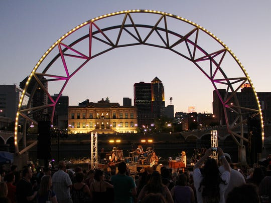 Simon Estes Amphitheater to close for summer 2019 and 2020, causing Nitefall on the River to move full-time to Brenton Skating Plaza.