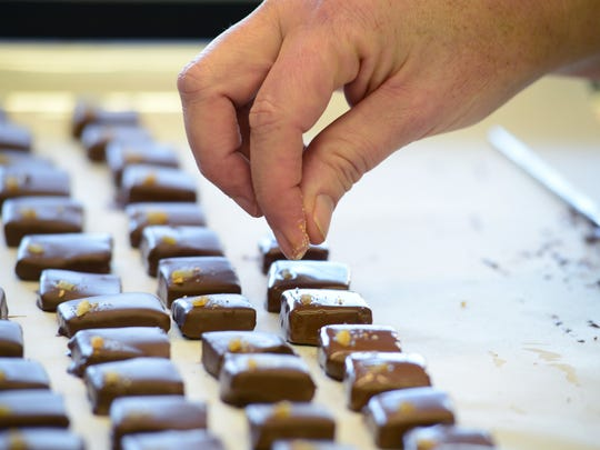 Elizabeth McDaniel is the Maitre Chocolatier behind LaRue Fine Chocolate.