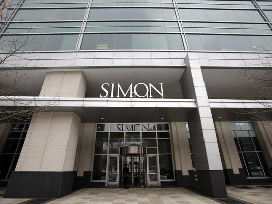 Simon Property Group headquarters in Downtown Indianapolis.