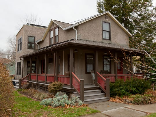 Carl Feuer and Carol Cedarholm's house at 310 First St. is one of the six winners of the 2014 Pride of Ownership Awards in the City of Ithaca.