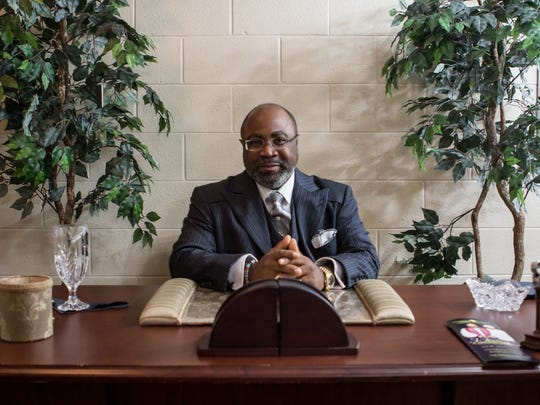 Bishop Brandon B. Porter is the jurisdictional prelate for the Tennessee Central Ecclesiastical Jurisdiction of the Church of God in Christ, which is holding its annual Holy Convocation this week at the Carl Perkins Civic Center.