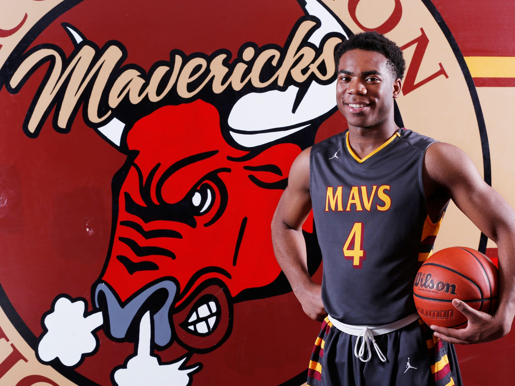 Tre'Shon Heard of McCutcheon High School is the 2015 Journal & Courier Big School Player of the Year in basketball.