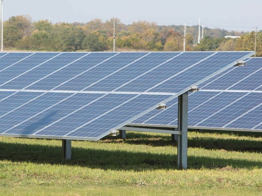 Indianapolis Airport S Solar Farm Growing