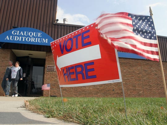The polls closed at 7:30 p.m. on Tuesday for May's primary election.