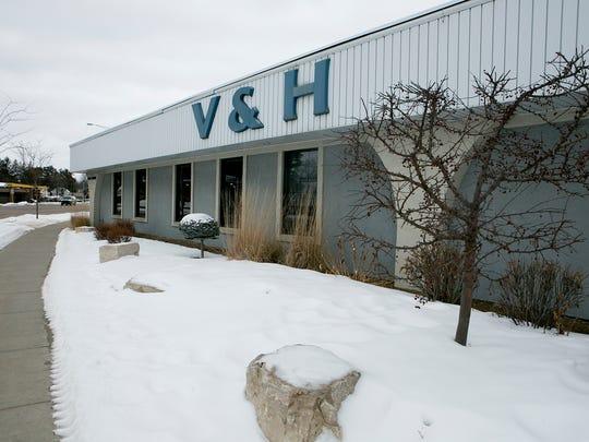 V&H Trucks on South Central Avenue in Marshfield, Thursday, Jan. 29, 2015.
