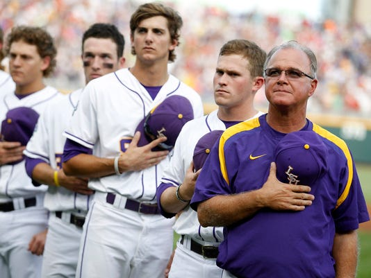 NCAA Baseball: College World Series-UCLA vs Louisiana State