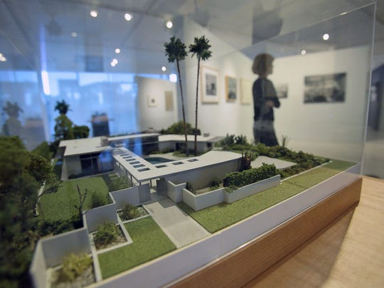 "Architectural models are included in the new exhibit ""An Eloquent Modernist: E. Stewart Williams, Architect"" at the Palm Springs Art Museum Architecture and Design Center."