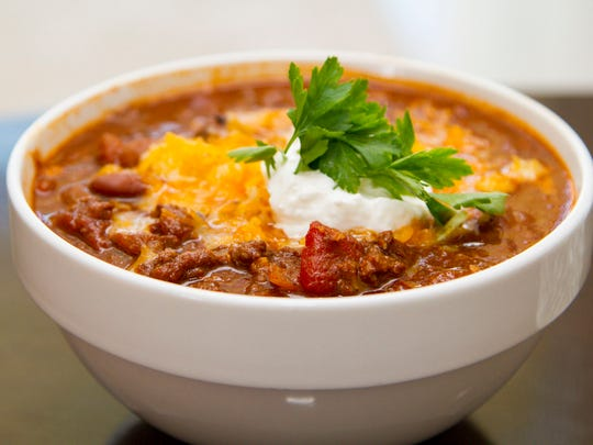 Chili is the go-to comfort food for Mark Van Laanen, executive chef and co-owner of Trio restaurant and The Purple Room Restaurant and Stage in Palm Springs.