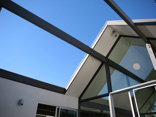A 400 square foot atrium is one of the features of