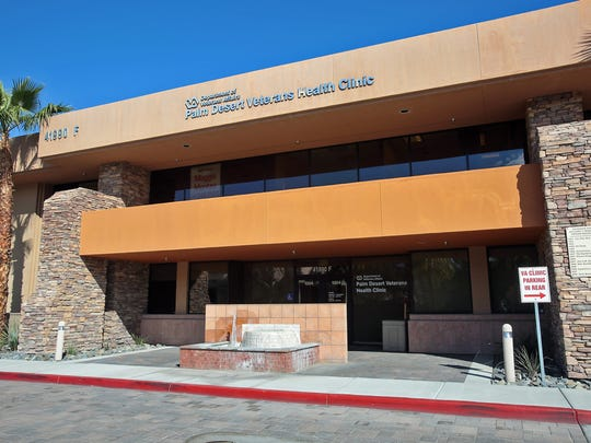 The Department of Veterans Affairs Palm Desert Health Clinic is located along Cook St., as seen on Tuesday, March 3, 2015.