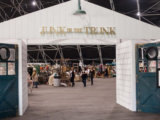 The semi-annual Junk in the Trunk Vintage Market at WestWorld in Scottsdale.  Credit: Junk in the Trunk Vintage Market.