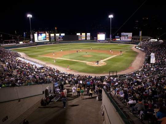 Frontier Field is home to the Rochester Red Wings.