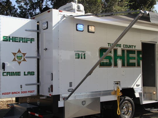 The Tulare County Sheriff's Department unveiled their new mobile Crime Scene Lab Tuesday.