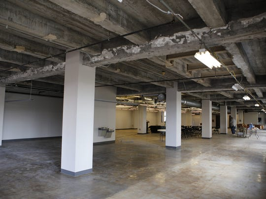 The previously unused, 8,000-square-foot second floor of the Delaware College of Art and Design in Wilmington is being renovated. Mobile walls that can be adjusted to divide the area into separate rooms or turned into one large space are being added.