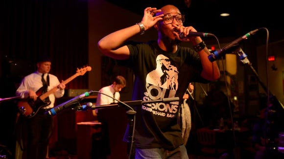 Wilmington rapper Richard Raw will perform at the Dream Streets Festival Friday night at the Delaware Art Museum.