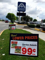 Albertsons GREAT SHOT signs to compete