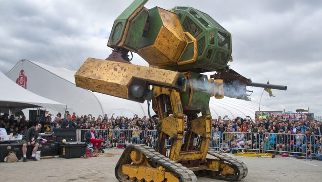 MegaBots wants to create a robot sports league that rivals UFC in popularity. IHMC will lend its expertise to the project if funding levels for a robot battle against Japan are reached.