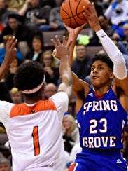 Spring Grove's Eli Brooks was a first-team all-state