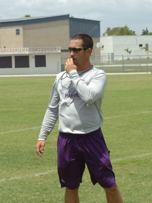 Cypress Lake football coach Richie Rode has seen growth out of the Panthers in his first spring with the team.