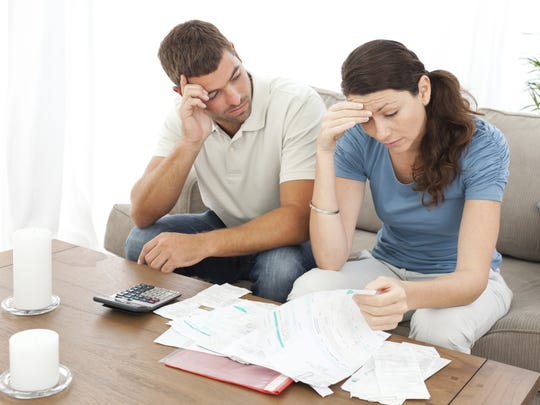 43% of those with debt expect to remain in debt at