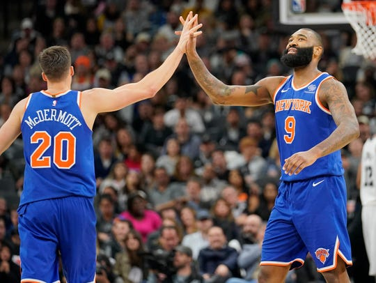 Once Knicks teammates, Doug McDermott and Kyle O'Quinn