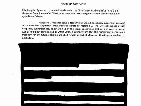 Discipline document