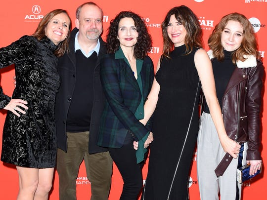 'Private Life' co-stars Molly Shannon and Paul Giamatti,