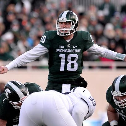 MSU Plays Iowa in the Big 10 championship game on Saturday in Indianapolis.