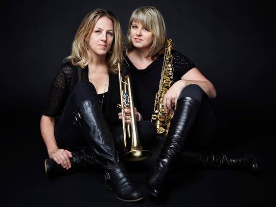 Ingrid and Christine Jensen return to the Burlington Discover Jazz Festival for a concert Wednesday.