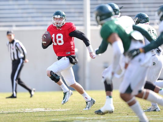 Connor Cook spring scrimmage 15.jpg