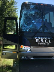 A bus carrying Alcorn State football players was involved