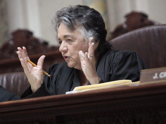Chief Justice Shirley Abrahamson has served on the Wisconsin Supreme Court for 37 years, 17 of them as chief justice.