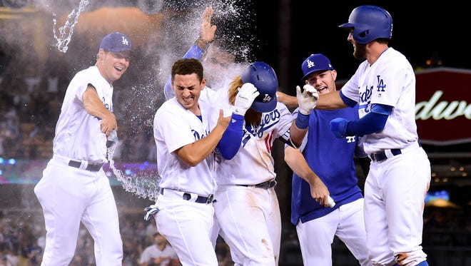 It's no accident things seem to work out for the 2017 Dodgers, who have nine walk-off victories and haven't lost a series in more than two months.