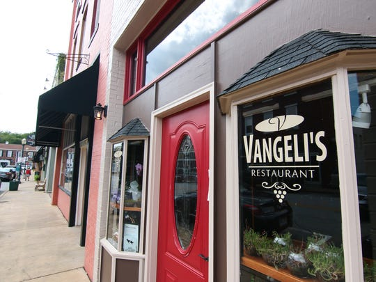 Vangeli's Restaurant on Ram Cat Alley in Seneca is