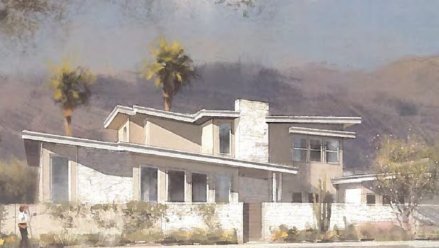 Canyon View is proposed as an 80-unit subdivision development in south Palm Springs.