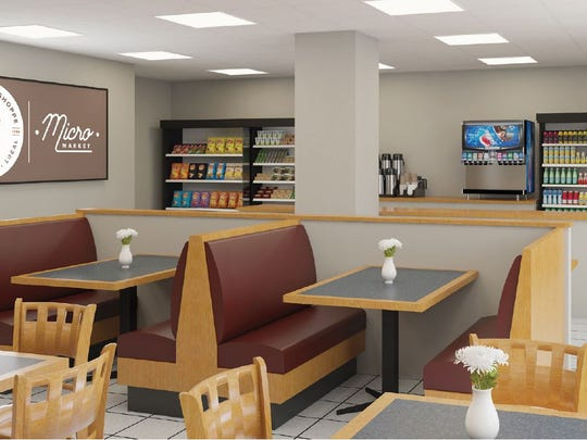 Here's a look at what the Butcher Shoppe Micro Market at Chambersburg Hospital will look like. It is expected to open in August.