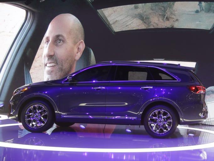 The 2019 Kia Sorento is unveiled at the L.A. Auto Show