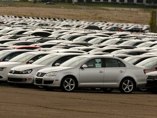 Diesel Volkswagen and Audi vehicles that VW bought