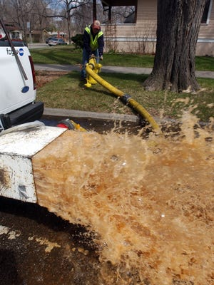 Fort Collins Utilities crews  plan to start flushing the city's water distribution system next week by allowing water to flow from fire hydrants.