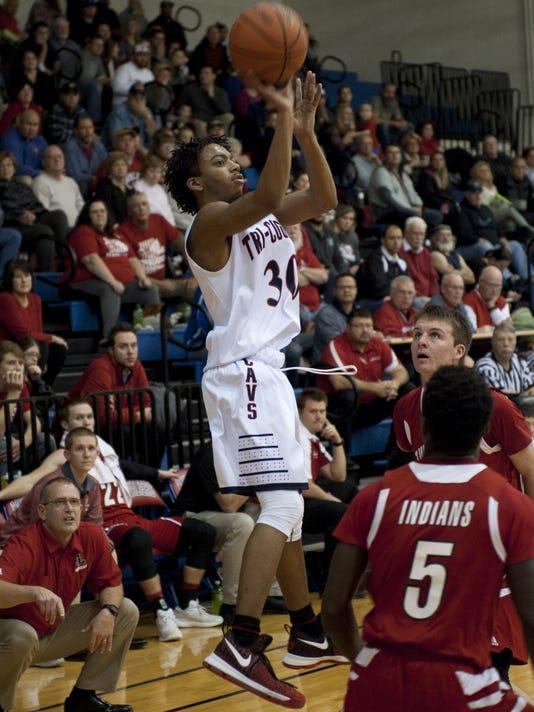 Twin Lakes - Tri-County boys basketball.