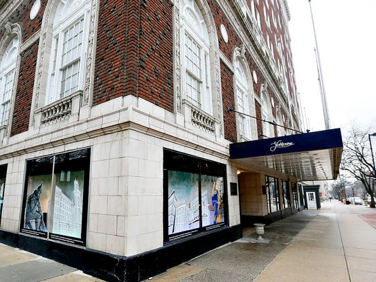The Yorktowne Hotel is shown in downtown York on Friday,