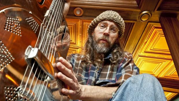 Charlie Parr will be playing a mix of songs old and new.