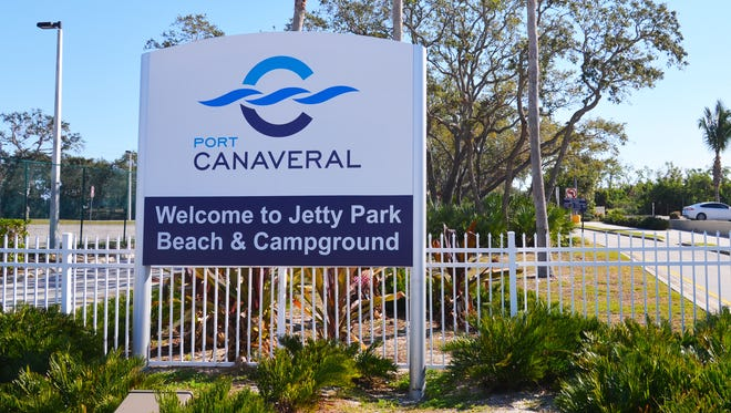 The Jetty Park Campground is part of the Port Canaveral complex.