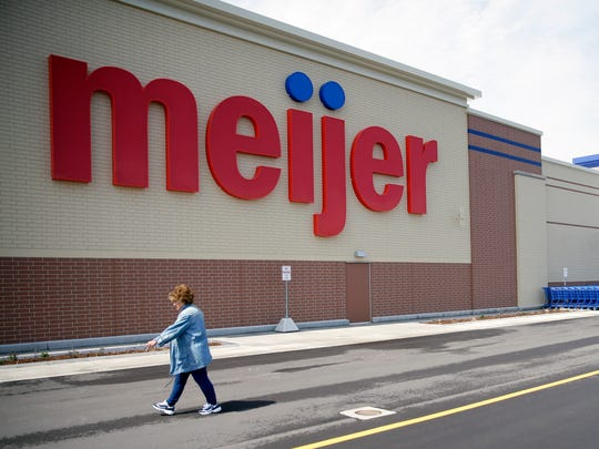 The Meijer superstore on Shawano Avenue in Howard opened on Tuesday.