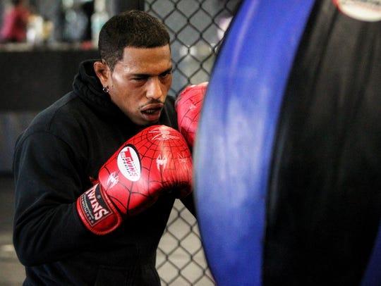Tallahassee's Rafael Valdez trains for an upcoming