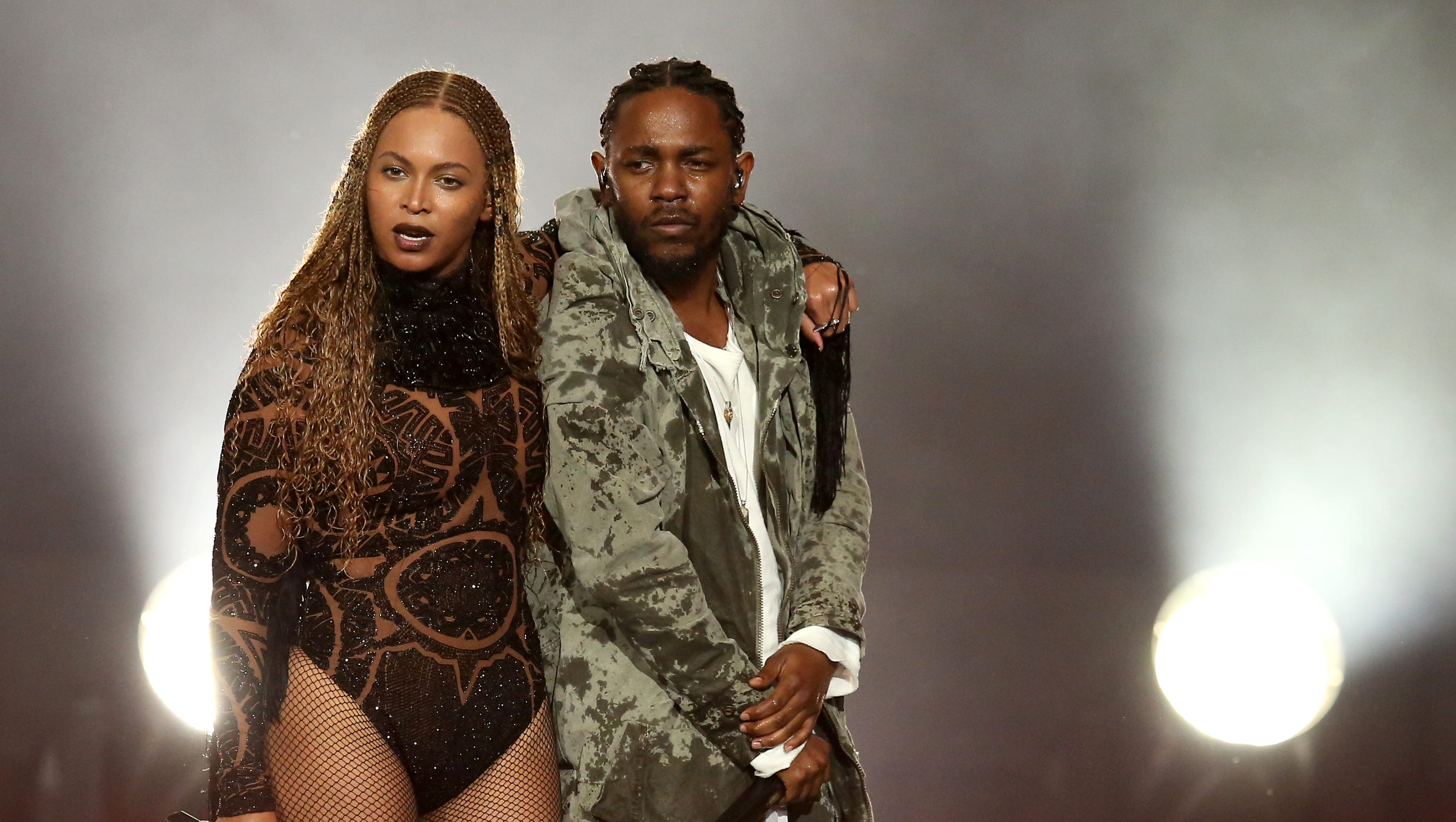 Beyoncé, Kendrick Lamar open BET Awards with blazing rendition of 'Freedom'