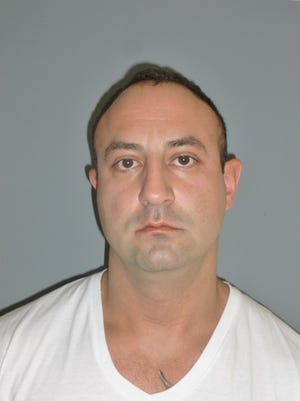 Marko Kos, 35, of Brewster, was charged with grand larceny, a felony, for taking part in stealing about $22,000 worth of landscaping equipment, state police said.
